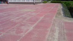 Antislip gekleurde betonplaten SIMnop colore